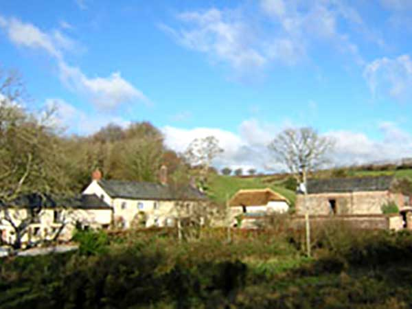 Anstey Mills Cottages near Dulverton