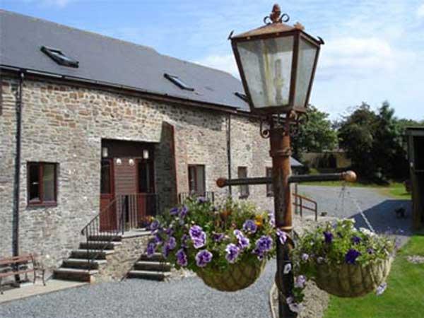 Enjoy the historic buildings when on holiday at Venn Farm.