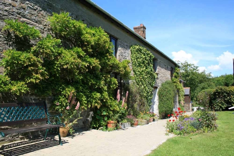 Huxtable farm in the height of summer is a beautiful B&B making it the perfect holiday spot.