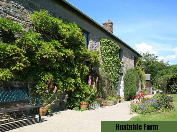 Stay at Huxtable Farm Bed and Breakfast for a lovely holiday, North Devon.