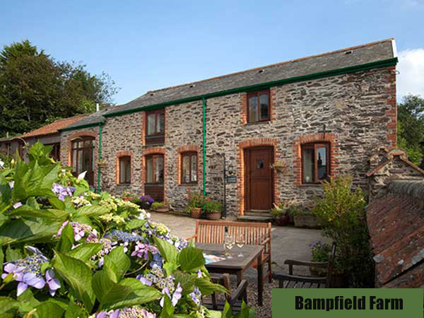 Stay at Bampfield Farm self-catering cottages near to Barnstaple, North Devon.