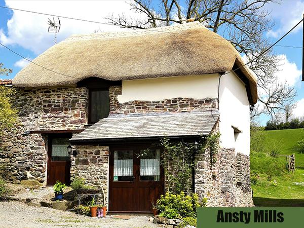 Ansty Mills Holiday Cottage in North Devon.