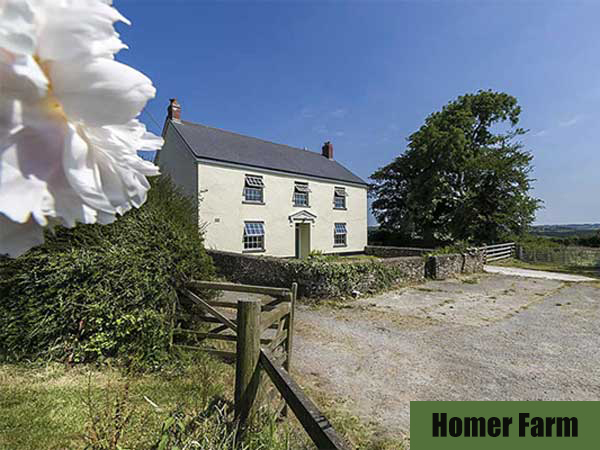 Homer Farm is a fantastic self-catering cottage in Great Torrington, North Devon.