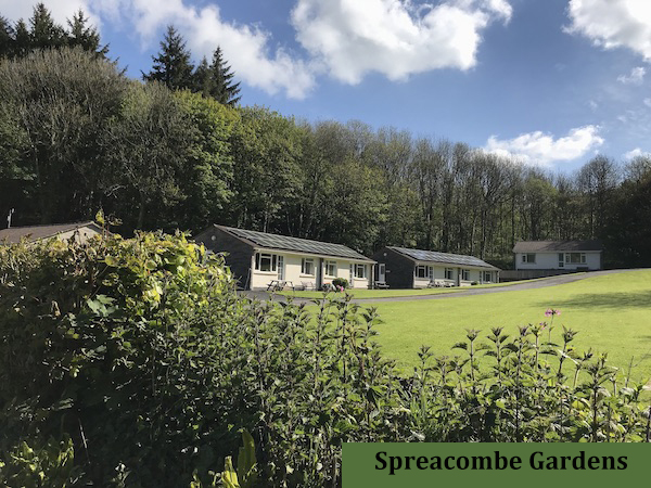 Stay at Spreacombe Gardens Self Catering Accommodation for a wonderful holiday.