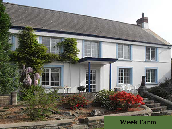 Enjoy a relaxing holiday at Week Farm Self-Catering Cottage.