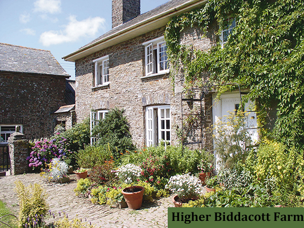 Stay at Higher Biddacott Farm in North Devon for a fabulous holiday.
