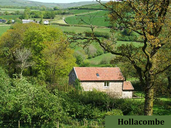 Enjoy the stunning views at Hollacombe self-catering cottage, North Devon.