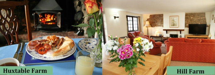 Enjoy delicious breakfasts at our B&Bs and comfortable accommodation at North Devon Farm Holidays.