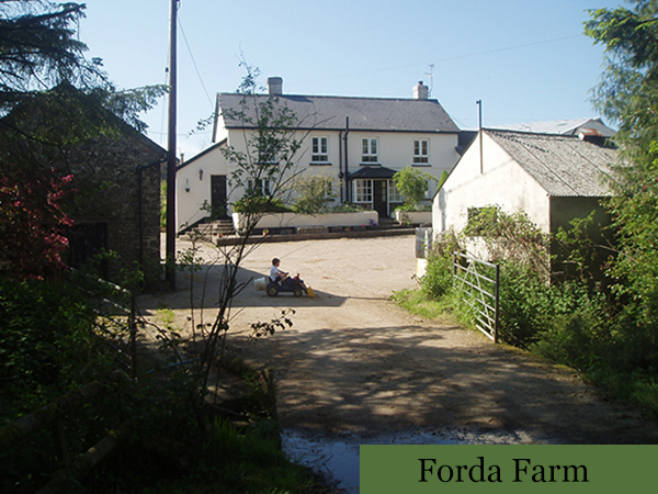 Forda Farm is a beautiful bed and breakfast located near to Holsworthy in North Devon.