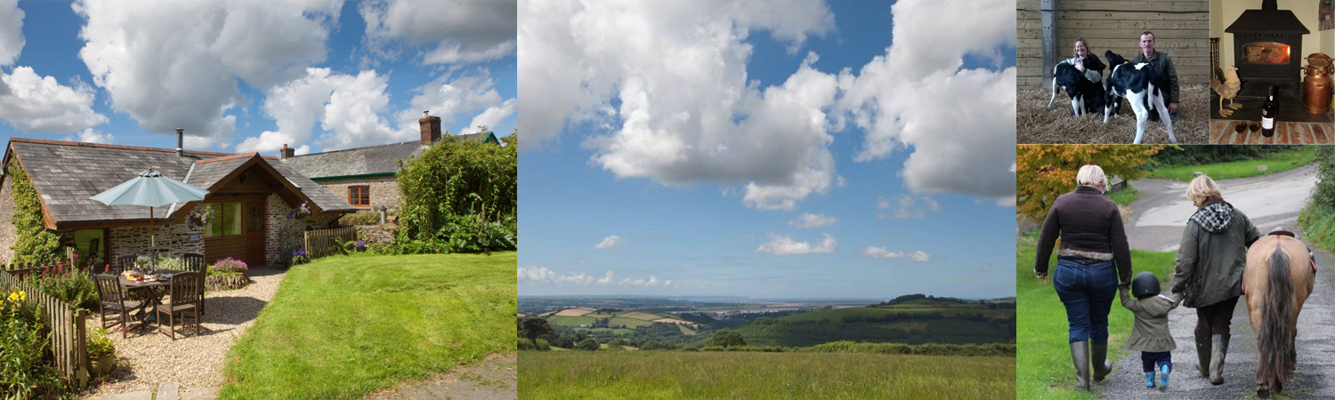 Stay at Bampfield Farm for a fantastic family holiday in North Devon.