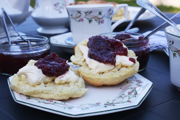 Enjoy a scrumptious cream tea while on holiday at Forda Farm, North Devon.