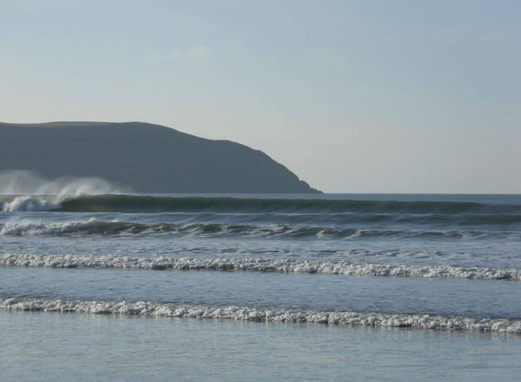 Enjoy the many lovely beaches such as Woolacombe when you stay at Bampfield Farm.