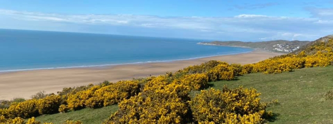 Enjoy the spectacular beaches in North Devon while on Holiday.